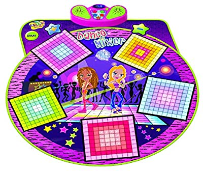 Dance Mixer Electronic Playmat - Touch-Sensitive Design with Background Music- Adjustable Music Tempo Setting ,Plug in Music by Toner Depot