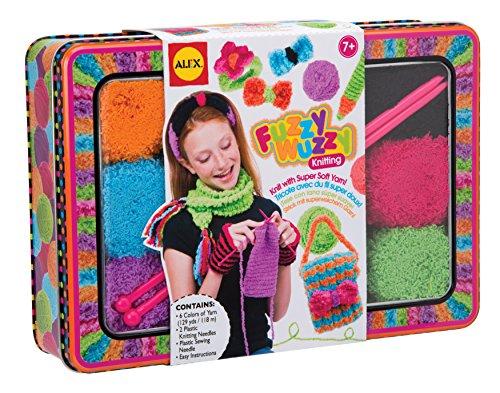 ALEX Toys Craft Fuzzy Wuzzy Knitting