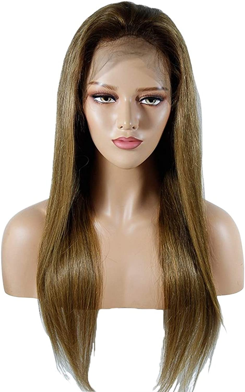 SHAI Pre Plucked Lace Human Hair Wigs For Women 250 Density Glueless Lace Wigs With Baby Hair Straight Wig Remy