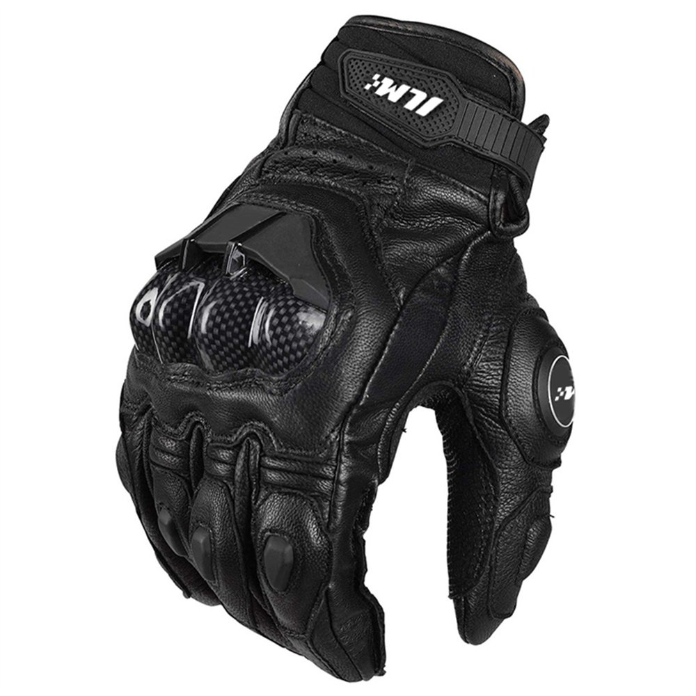 ILM Leather Motorcycle Gloves Women