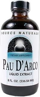 Source Naturals PAU D'Arco Liquid Extract, 8 Glass Ounce