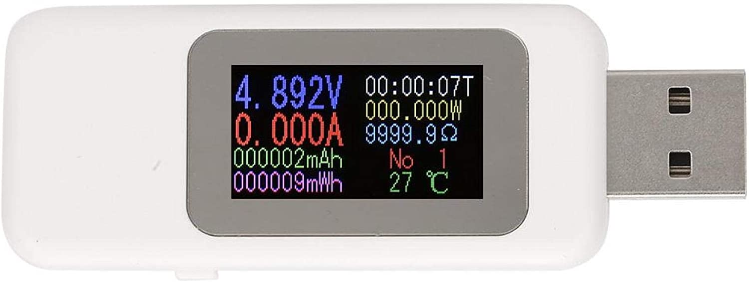 Power Charger Voltmeter 0-5.1A Portable Colo Tester DC4-30V Popular shop is the lowest price challenge USB Year-end gift