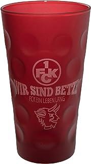 Beschdstoff Beschdstoff 1. FC Kaiserslautern Dubbeglas Wir sind Betze 0,5 Liter rot Dubbeglas-Shop