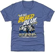 500 LEVEL St. Louis St. Louis Hockey Kids Shirt - St. Louis Hockey Bleed Blue