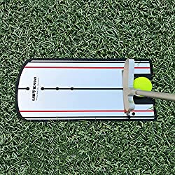 [Clear Mirror Face] The golf putting practice mirror helps with your shoulder alignment, putter alignment and make sure your eyes are over the ball. [Accurate Alignment lines] The lines of the mirror help with golf swing path more accurate and square...