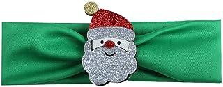 Christmas Merry Wishes Fashion Baby Christmas Headscarf Children's Cartoon Hair Band عيد ميلاد سعيد التمنيات