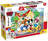 Liscianigiochi Mouse & Friends Disney Puzzle Supermaxi 60, Mickey, Multicolore, 66728.0