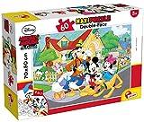 Lisciani - Maxi PuzzleDoble Cara Disney Mickey Mouse 60 piezas 70 x 50 cm