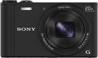 Sony DSC-WX350 - Cámara Digital (18.2 MP Compacto 25.4/58.4 mm (1/2.3) 20x 80x 4.3-86 mm) Negro (Importado)