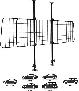 Goplus Ausziehbare Hunderampe Tragbar Tierrampe aus Spie/ßtannenholz Auto Kofferraum Rampe mit Anti-Rutsch Gummioberfl/äche Gestuft Leicht Einstiegshilfe Belastbar bis 50kg Ausziehbar