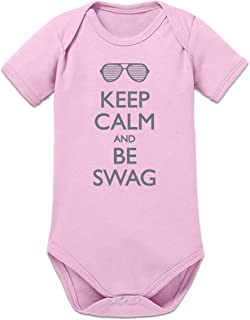 Shirtcity Keep Calm and be Swag Baby Strampler by