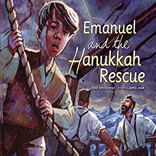 Emanuel and the Hanukkah Rescue cover art