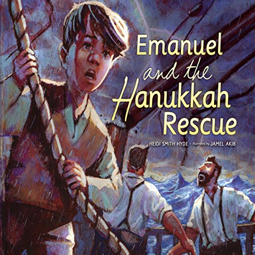 Emanuel and the Hanukkah Rescue copertina