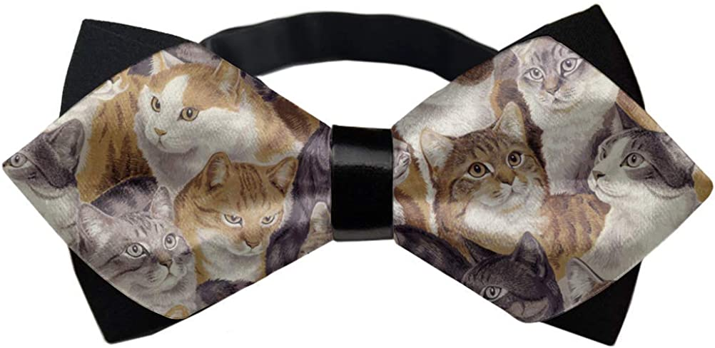 Vintage Novelty Tuxedo Bow Tie, Formal Suit Bowtie Gift for Men, Boys, Teens