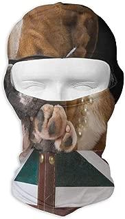 Bull Dog British Flag Sports Balaclava Travel Motocycling Full Face Mask Hat Keep Warm Sun Protection