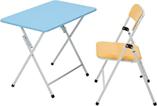 COSCO Kids 2pc Activity, Table and Chair, Orange Chair, Blue Table