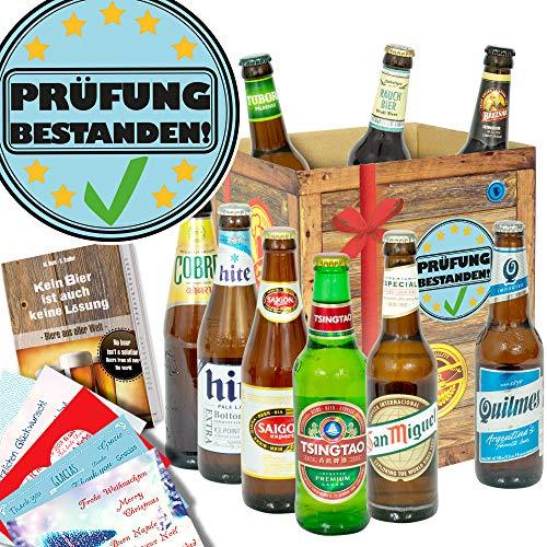 Prüfung bestanden/Abschlussprüfung Geschenk/Bier der Welt