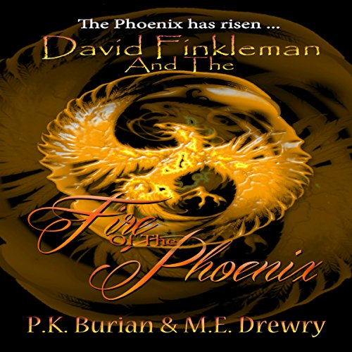 David Finkleman and the Fire of the Phoenix audiobook cover art
