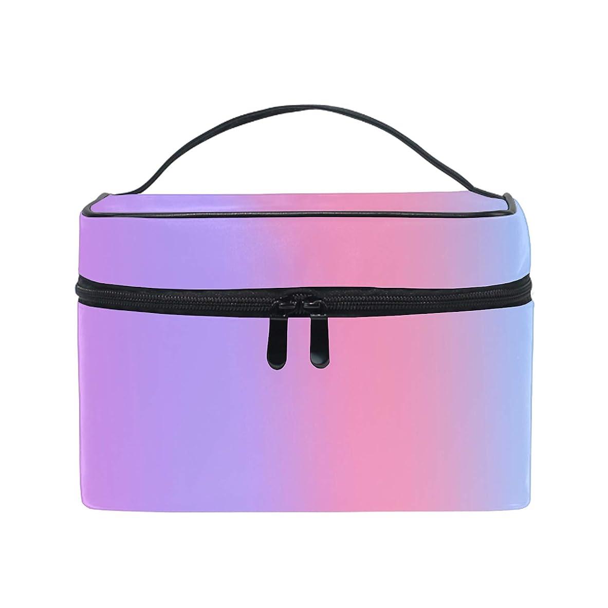 近似まとめる脆いピンクコスメ 化粧 ポーチ レディース 大容量 コンパクト 中身が見やすい 防水 シンプル 小物入れ 旅行