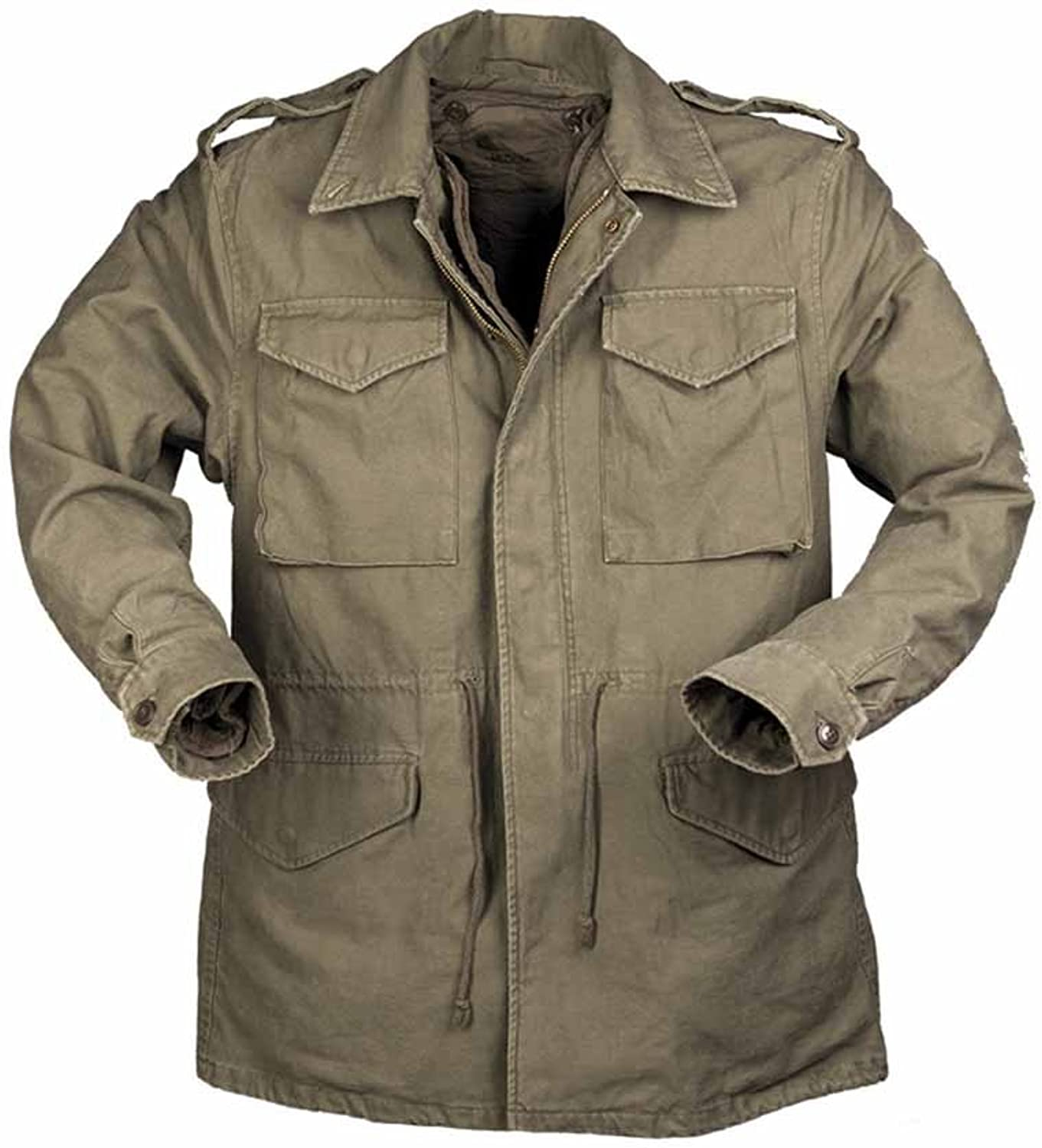 US field jacket M51 pre-washed with lining in olive green