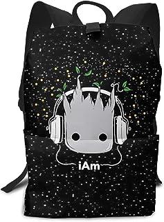 Mochila Unisex, Mochilas y Bolsas, Baby Groot School College Bookbag for Girls Boys Fashion Travel Back Pack