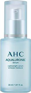 AHC Face Serum Aqualuronic Hydrating Aqualuronic Korean Skincare 1.01 oz