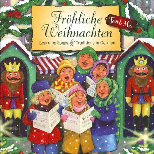 Teach Me Fröhliche Weihnachten audiobook cover art