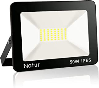 comprar comparacion LED Foco exterior 5000LM Proyector Foco LED 6000K Blanco Frío Impermeable IP66 Luces de Seguridad Floodlight Led para jard...
