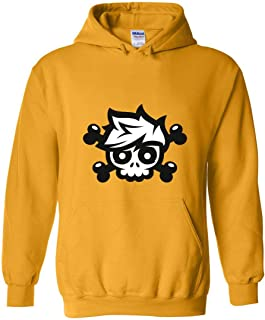 ZOZATEE Gorillaz Youth to Adult Size Unisex Blend Hoodie
