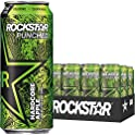 12-Pack Rockstar Energy Drink Punched Hardcore Apple 16 oz Cans