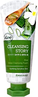 Cleansing Story Natural Facial Deep Foam Cleansing - Aloe