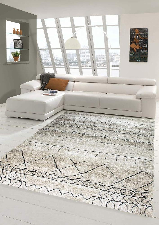 Carpetia Teppich Wohnzimmer Wohnzimmer Wohnzimmer Teppich marokkanisches Muster beige braun Größe 160x230 cm B07N1HPCXG 965cc9