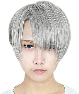 victor nikiforov cosplay wig