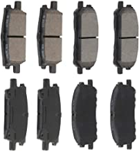 Rear Blue Brake Pads Bosch BE996H For Lexus RX330 RX350 RX400h Toyota
