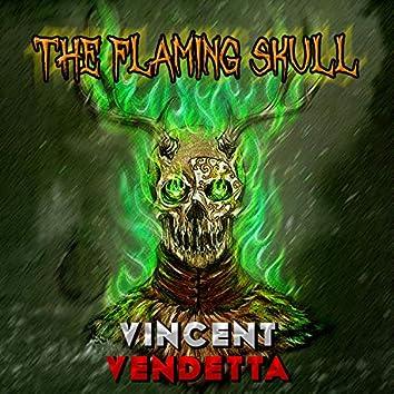 The Flaming Skull