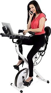 FitDesk Standing Adjustable Desk Bike for Exercising for Home Use or Office