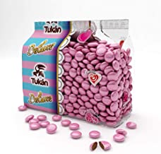 Tuinkys pink chocolate lenses coated with colored sugar 450g Estimated Price : £ 5,50