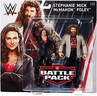 Ringside Mick Foley & Stephanie McMahon - WWE Battle Packs 49 Mattel Toy Wrestling Action Figure 2-Pack