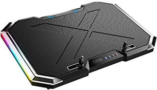 Laptop Stand, Silent Cooling Desktop Height Multi-angle Adjustment With Fan For Games, Black