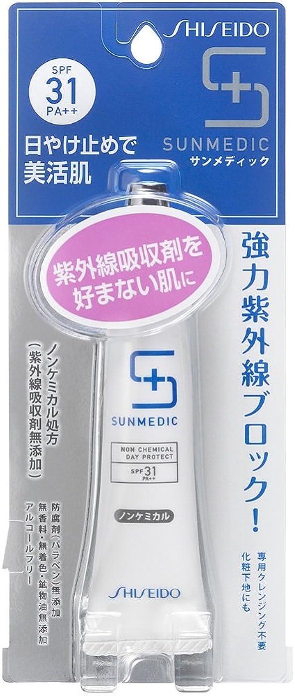 サンダースランチ明らかにサンメディックUV デイプロテクト ノンケミカル クリーム 顔?首用 30g SPF31+ PA++