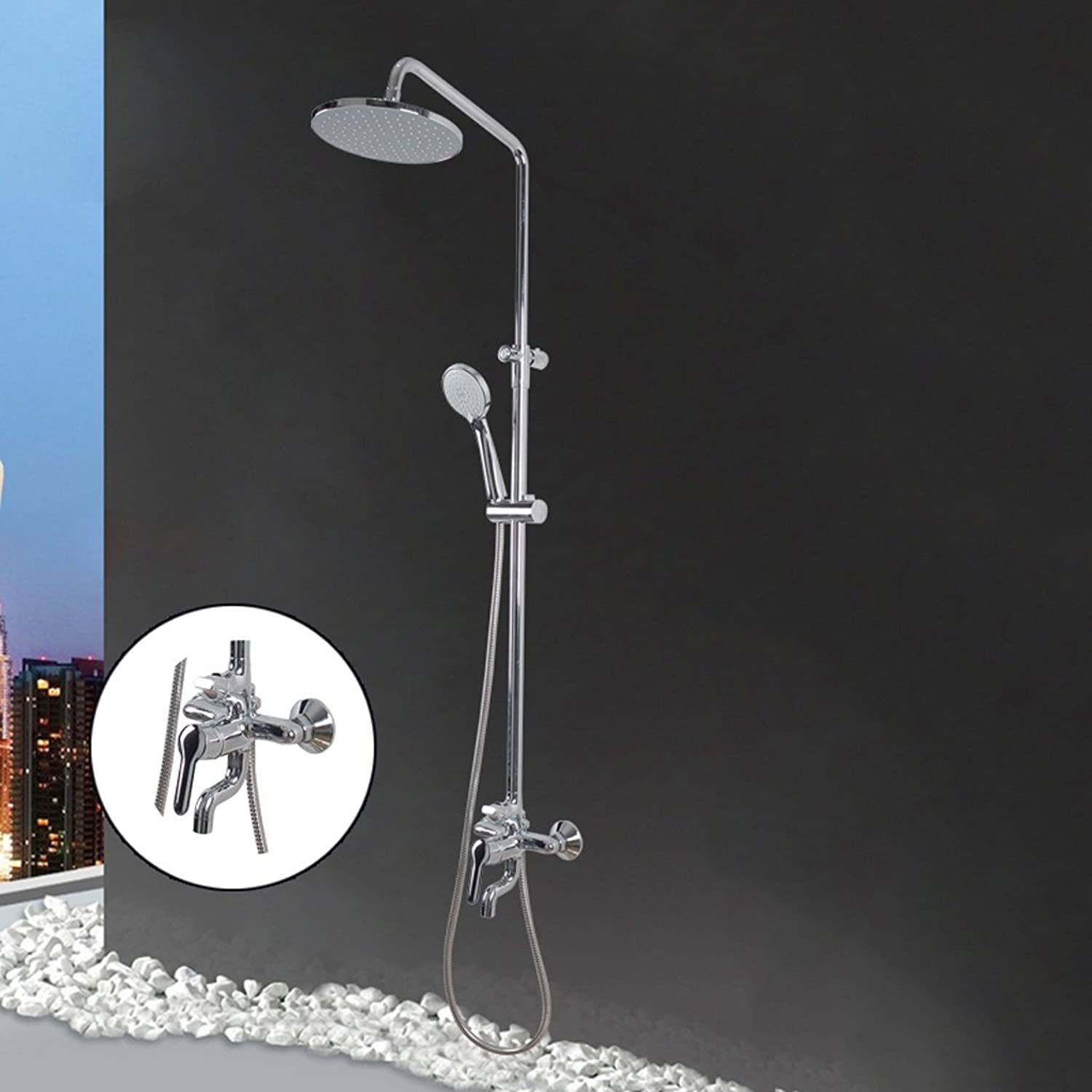 PIGE-Shower set with three functions with water shower set