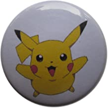 Baubles of Time Men's Pikachu Pin Back Button Set 1.25 Inch Multicoloured
