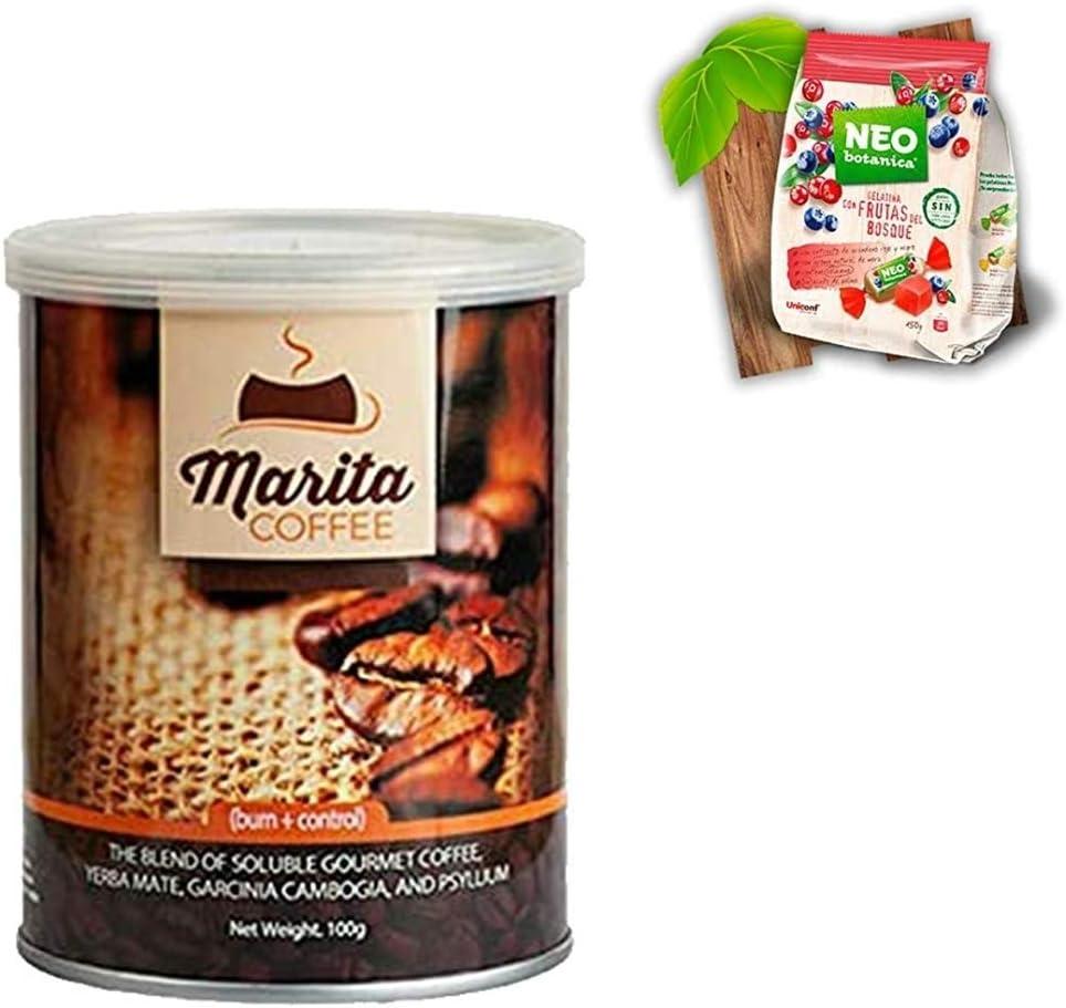Pack REGALA VIDA SANA ESPECIAL Café Marita Burn control /100g/ Hoja de seguimiento Pautas (1)