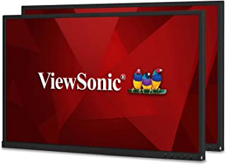 ViewSonic VG2448_H2 24 Inch Dual Pack Head-Only IPS 1080P Monitors with HDMI DisplayPort USB for Home and Office