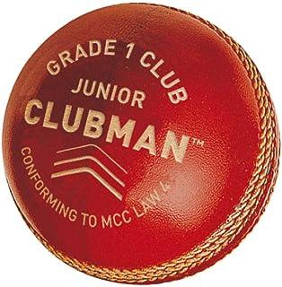 GM Kids' CLUBMAN 1年级俱乐部板球红色均码