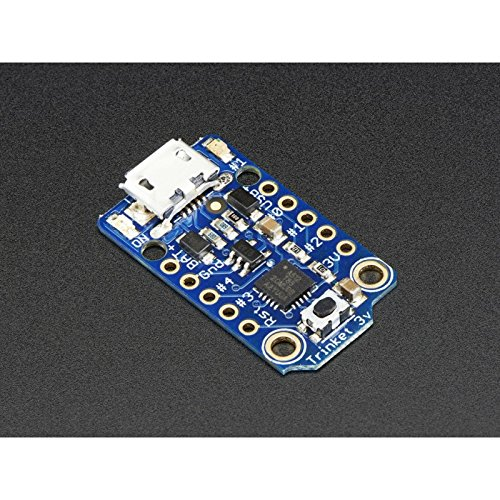 Adafruit Trinket - Mini-Mikrocontroller - 3,3V Logik - MicroUSB