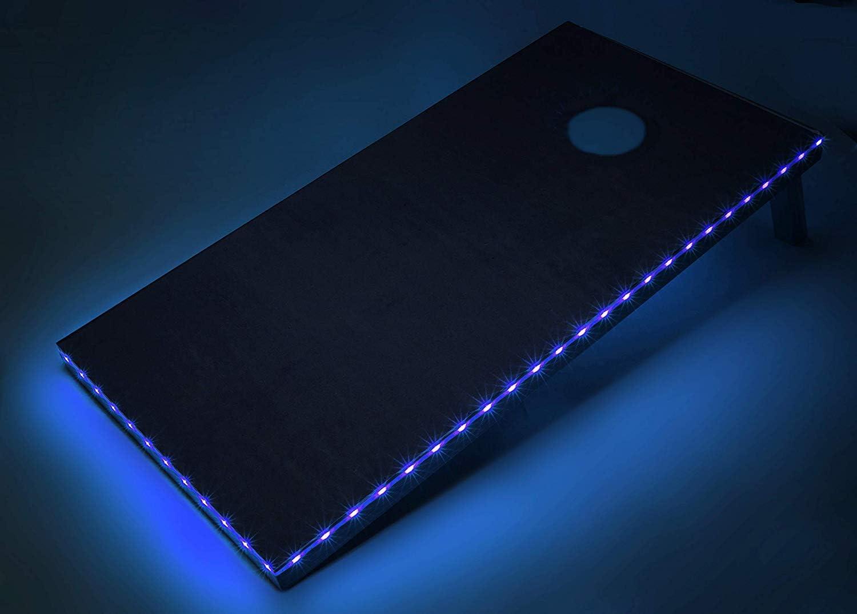 Tailgating Pros Premium Cornhole Board Set Rare Waterpro Light Animer and price revision w Edge