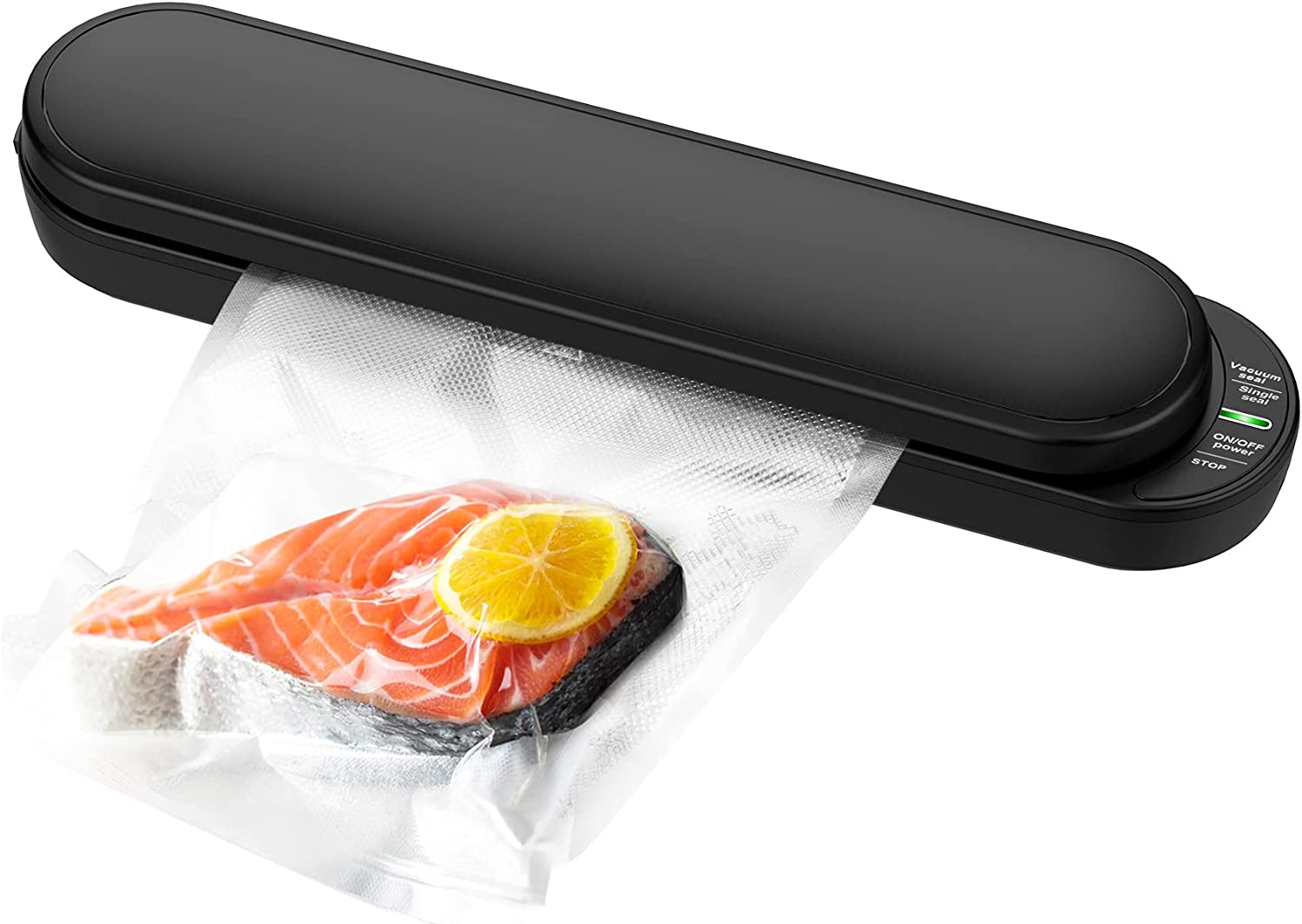 Vacuum Sealer Machine,Wireless Automatic Food Sealer for Food Savers Starter Kit with Dry Moist Food Modes,Portable Vacuum Packing Machine