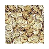 amscan Internationale Goldmünzen. -