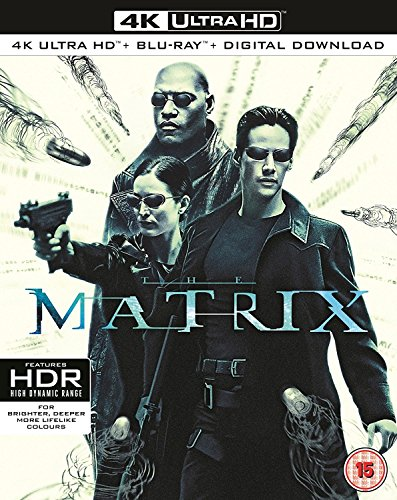 The Matrix [Edizione: Regno Unito] [Italia] [Blu-ray]